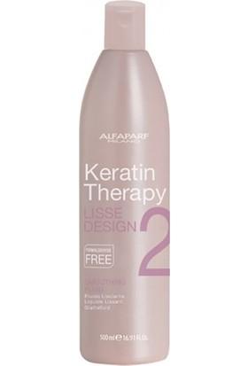Alfaparf Lisse Design Keratin Therapy 2 Kalıcı Düzleştirme Losyonu 500ml