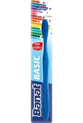 Banat Basic Diş Fırçası Orta
