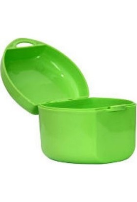 Yeşil Diş Protez Saklama Kutusu/Kabı Aparey Kutusu