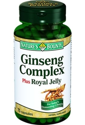 Nature'S Bounty Ginseng Complex