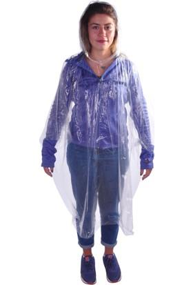 And Tek Kullanımlık Unisex Cep Yağmurluğu