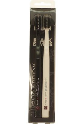 Curaprox 2 Li Diş Fırçası Cs 5460 Black & White Temalı Özel Seri