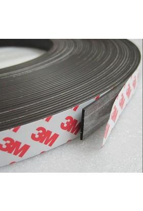 Hdg Yapışkanlı Şerit Mıknatıs Magnet Mıknatıs- 2 cm Genişlik - 5 Metre Uzunluk