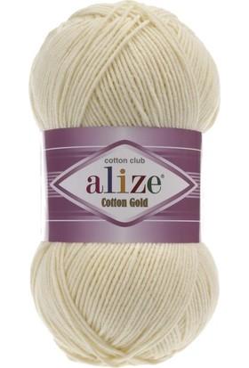 Alize Cotton Gold 100 Gr 330 Mt Krem Rengi Kod: 1