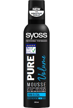 Syoss Pure Volume Saç Köpüğü