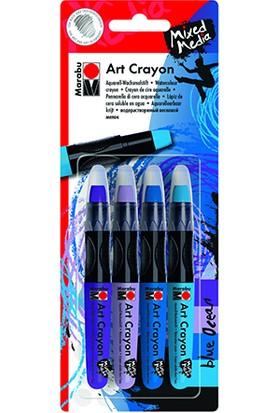 Marabu Sanatsal Mum Boyası Blue Ocean Set