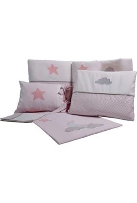 Pudra Decor Pembe Yıldızlar Bebek Uyku Seti