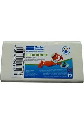 Becks Suda Yüzen Oyun Hamuru 65gr Beyaz Non Toxic