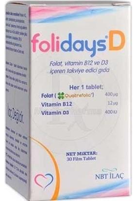 Folidays D 30 Tablet