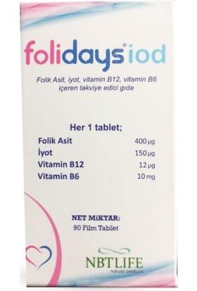 Folidays İod 90 Tablet