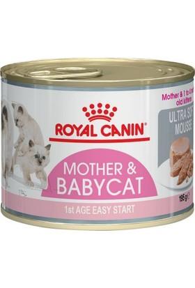 Royal Canin Mother&Babycat Yaş Yavru Ve Gebe Anne Kedi Maması 195 Gr. 12 Adet