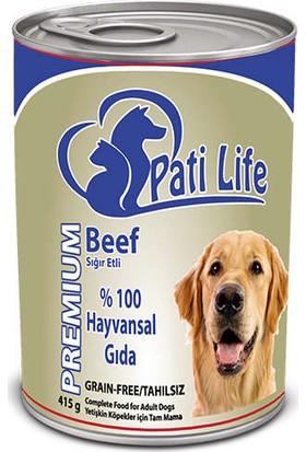 Pati Life (Patilife) Kuzu Etli Köpek Konserve 415 Gr X 24'Lü