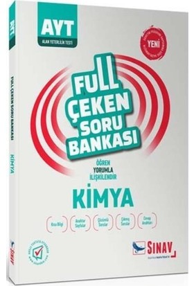 Sınav Ayt Kimya Full Çeken Soru Bankası-Yeni