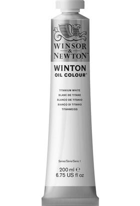 Winsor & NewtonWinton Yağlı Boya 200Ml Titanium White 644 40
