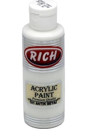 Rich Akrilik Boya 130 Cc Antik Beyaz