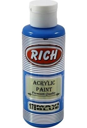 Rich Akrilik Boya 130 Cc Mavi