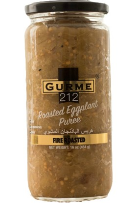 Gurme212 - Köz Patlıcan Ezmesi 450 gr