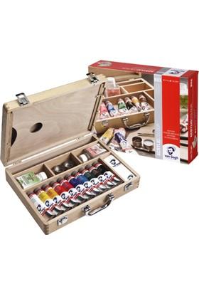 Van Gogh Akrilik Boya Basic Box Ahşap Kutu