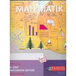 Pandül Yayınları Yayınları 8.Sınıf Matematik Defteri