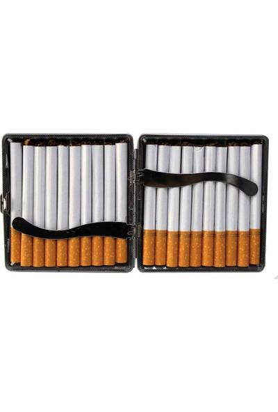 Modaroma Sigara İçen Kurukafa Sigara Tabakası