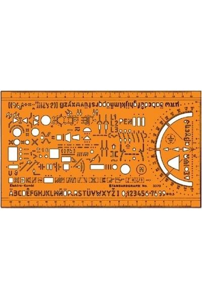 Standardgraph Çok Amaçlı Elektrik Şablonu