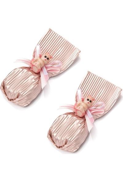 Melodi Bebekli Çiçek Baton Pembe 300gr - Kız Bebek Çikolatası