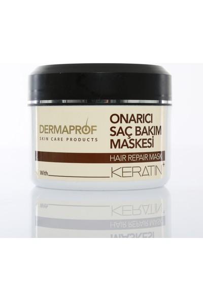 Dermaprof Keratin Onarıcı Saç Bakım Maskesi 300 ml