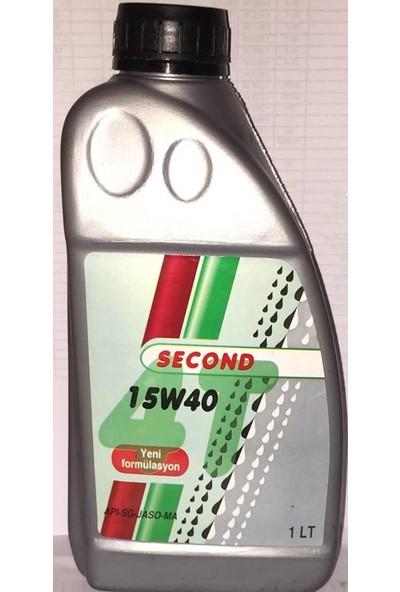 Second 4T 15W40 Motosiklet Yağı 900 Ml
