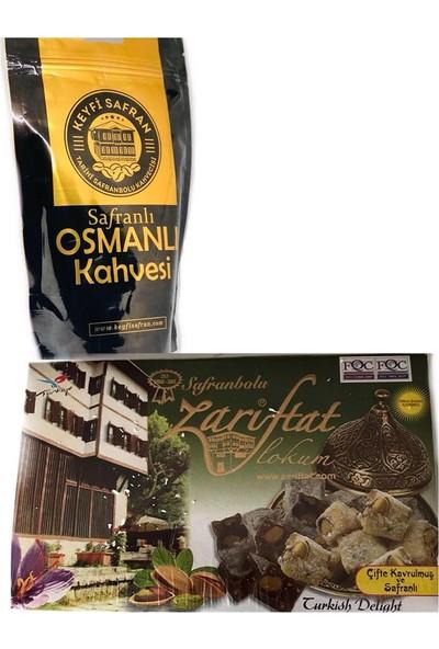 Keyfi Safran Kahve Çifte Kavrulmuş + Safranlı Lokum