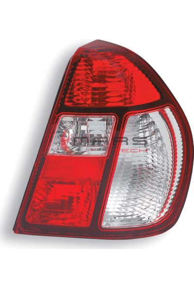 Pleksan Renault Clio Symbol Sol Stop Lambası Duysuz 2004-2008