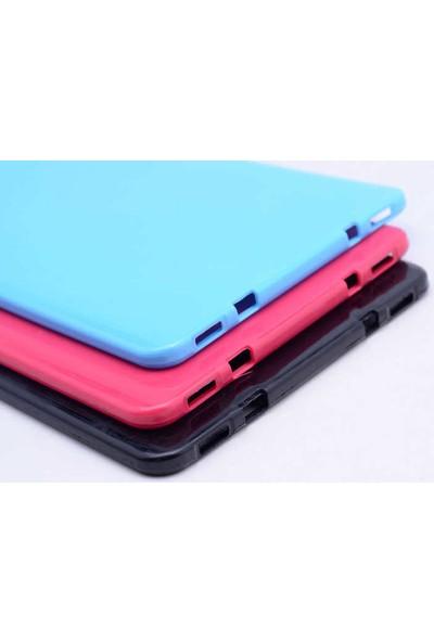 Evastore Galaxy Tab S2 9.7 T815 Kılıf Süper Silikon Kapak - Mavi