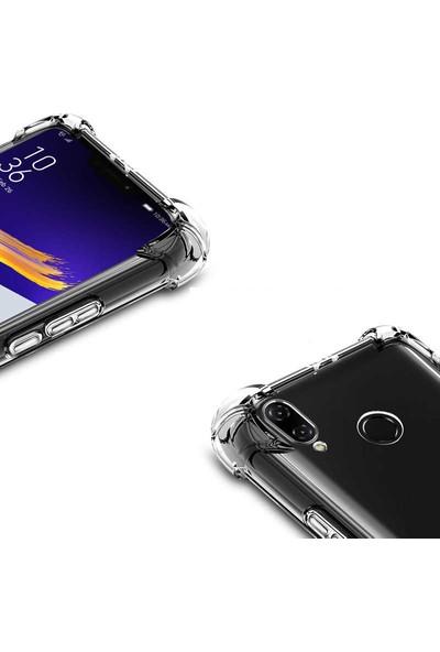 Evastore Asus Zenfone 5Z ZS620KL Kılıf Nitro Anti Shock Silikon - Şeffaf