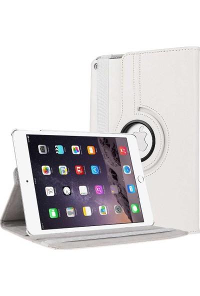 Evastore Galaxy Tab S2 9.7 T815 Dönebilen Standlı Kılıf - Beyaz