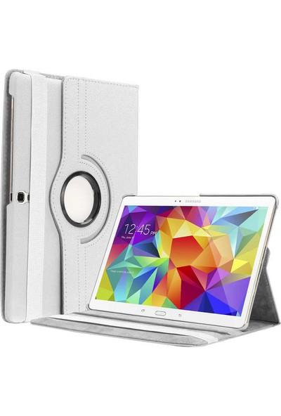 Evastore Galaxy Tab S3 9.7 T820 Döebilen Standlı Kılıf - Beyaz
