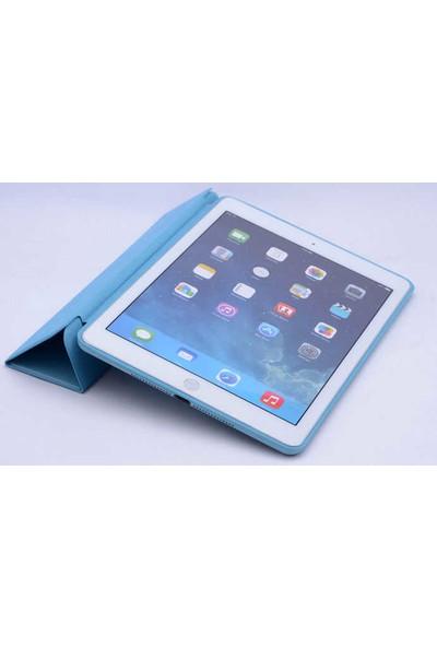 Evastore Apple iPad 6 Air 2 Zore Standlı Kılıf - Gold