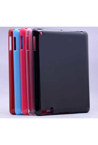 Evastore Apple iPad 2 3 4 Kılıf Tablet Süper Silikon Kapak - Kırmızı