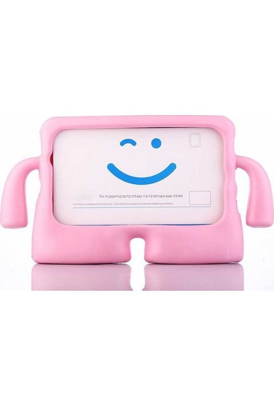Evastore Galaxy Tab 4 T280 İbuy Standlı Tablet Kılıf - Pembe