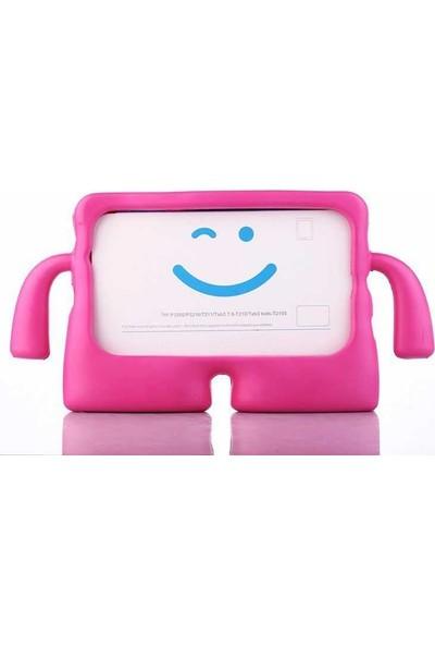 Evastore Galaxy Tab 3 7.0 T210 İbuy Standlı Tablet Kılıf - Koyu Pembe