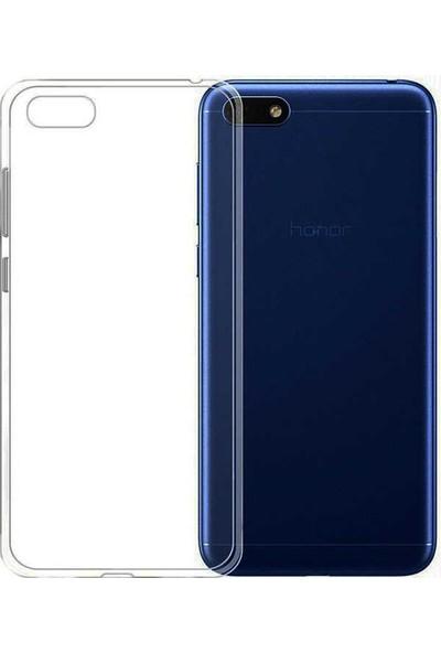 Evastore Huawei Y5 2018 Kılıf Ultra İnce Silikon 0.2 Mm - Şeffaf