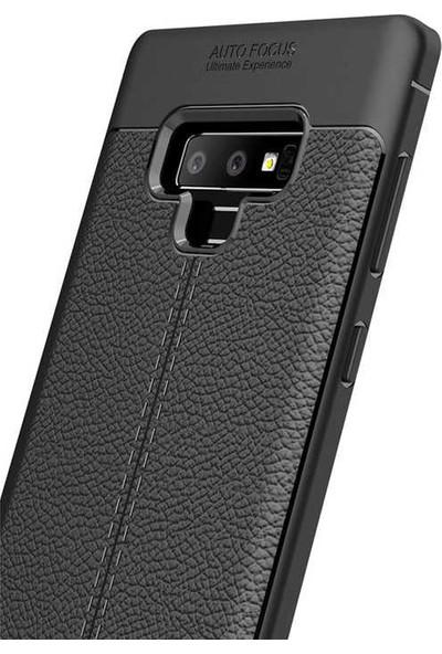 Evastore Galaxy Note 9 Kılıf Zore Niss Silikon - Lacivert