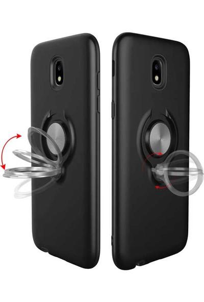 Evastore Apple iPhone 7 Plus Kılıf Zore Ring Youyou Kapak - Mürdüm