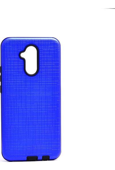 Evastore Huawei Mate 20 Lite Kılıf Zore New Youyou Silikon Kapak - Lacivert