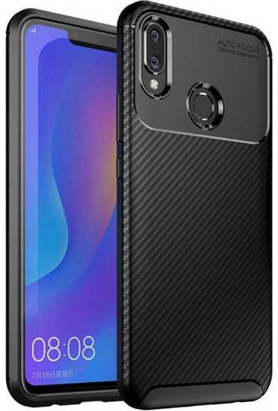 Evastore Huawei Honor Play Kılıf Zore Negro Silikon - Siyah