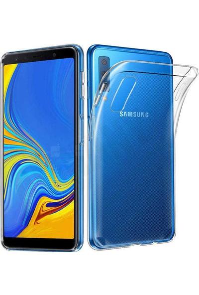 Evastore Galaxy A7 2018 Kılıf Süper Silikon