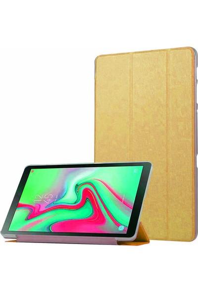 Evastore Apple iPad Pro 11 Smart Cover Standlı 1-1 Kılıf - Gold