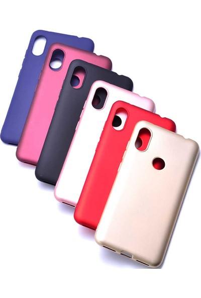 Evastore Xiaomi Redmi Note 6 Pro Kılıf Zore Premier Silikon - Lacivert