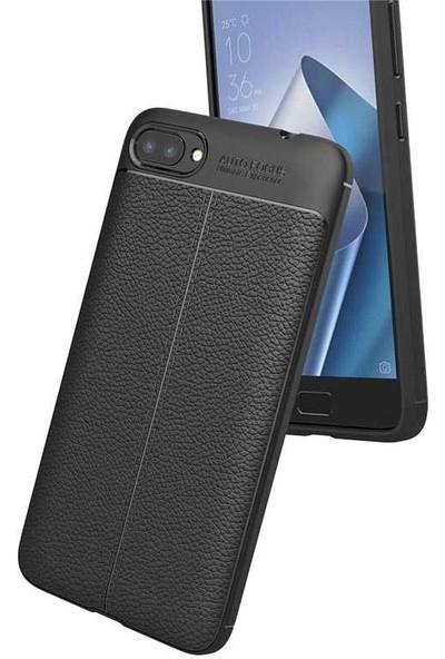 Evastore Asus Zenfone 4 Max ZC554KL Kılıf Zore Niss Silikon - Gri