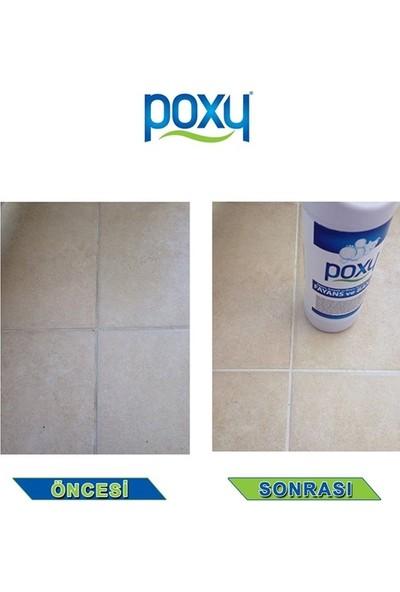 Poxy Genel Temizlik + Fayans Temizleyici + Leke Çıkarıcı