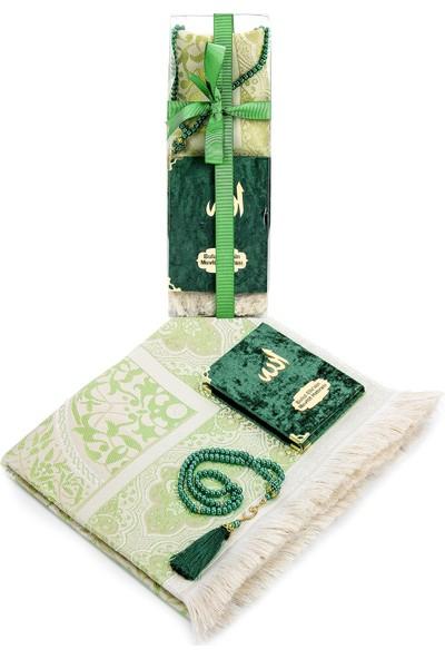 İhvan İsme Özel Hediyelik Yasin Mevlüt Seti Yeşil