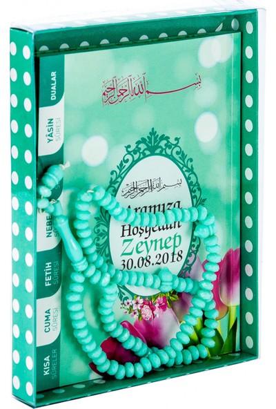 İhvan İsme Özel Yasin Kitabı Seti Yeşil